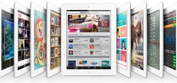 "Apple iPad 2 9.7"" Tablet 16GB Wi-Fi - White (MC979C/A)"