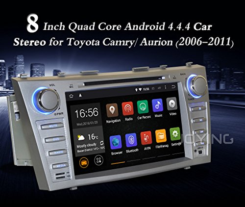 JOYING 8 Inch Android 4 4 4 Quad Core Double Din Head Unit