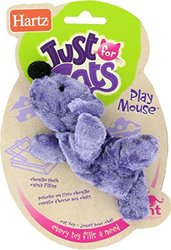 Hartz Play Mouse with Catnip Cat Toy (Pack of 4)