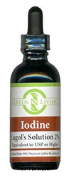 Potassium Iodide Lugols 2% Liquid Iodine Supplement (2 oz/60ml)
