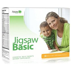 Jigsaw Health Daily Multivitamin Supplement Basic Essential Packets