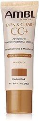 Ambi Even & Clear CC+ Medium/Dark Sunscreen SPF 30 1.7 oz