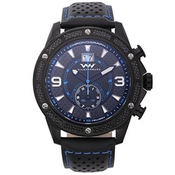 Weil & Harburg Men's Swiss Chronograph Watch - Black