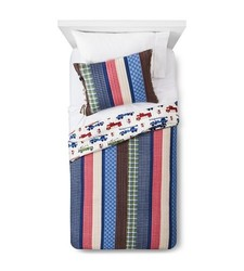 Sheringham Road Nathan Quilt Set - Multi - Size: Queen