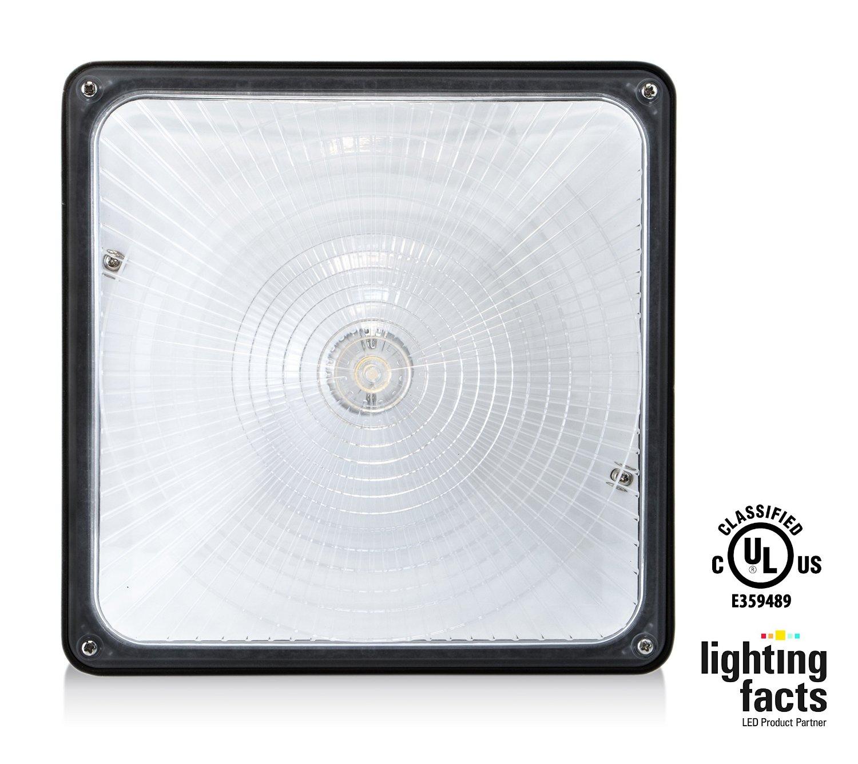 Hyperikon Dlc Qualified Ul Listed 70w Led Canopy Light Check
