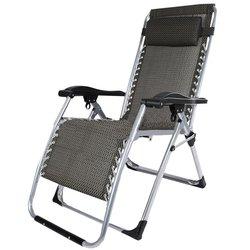 Asvogue Outdoor Zero Gravity Folding Chair Nap Recliner - Deep Grey