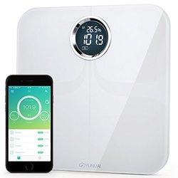 Yunmai Bluetooth Smart Body Fat Scale & Body Composition Monitor - White