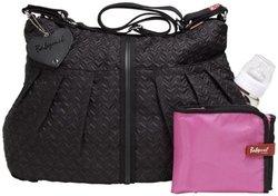 Babymel Quilted Amanda Diaper Bag - Black