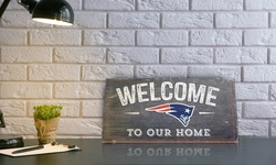 "Fan Creations NFL San Francisco 49ers ""Welcome to Our Home"" Wood Sign"