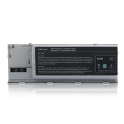 OMCreate Laptop Battery Dell Latitude - 5200mAh