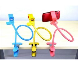 GoClassical Rotating Gooseneck Mobile Lazy Cell Phone Stand/Mount - Pink