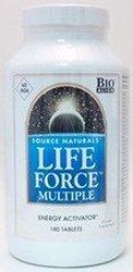 Source Naturals Life Force No Iron 180t NatureWare 180 tablet