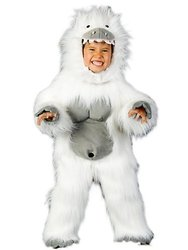 Abominable Snowman Costume - Boys