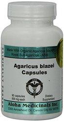 Aloha Medicinals Inc. Pure Agaricus Blazei - 90 capsules...