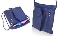Trendy Cell Phone Women's Crossbody Bag - Blue