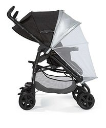 Mamas & Papas Sun Canopy & Insect Net - Pebble