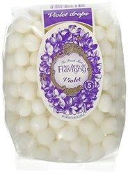 Violet Abbaye De Flavigny Anise Drops Mint candy - 8.82 Oz Bag