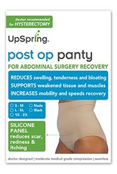 Post Op Panty High Waist Compression + Silicone Scar Care (s/m, Nude)