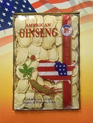 Hsu's Ginseng 126.4 Slices Cultivated American Ginseng - 4Oz