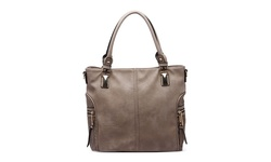 MKF Collection Women's Avlyn Purse - Biege