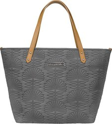 Petunia Pickle Bottom Downtown Tote in Champs-Elysees Stop, Grey