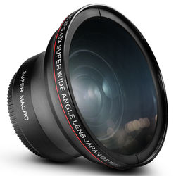 Altura Photo Wide Angle Lens with Macro for Canon Rebel
