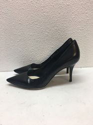 Christian Dior Women's Leather Pointed Toe Pumps - Black - Size: 38