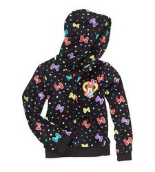 Girls License Soft Woobie Full Zip Hoodie Jacket - Multi - Size: Large