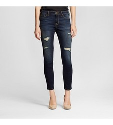 Mossimo Women's Mid Rise Jegging - Dark Wash - Size: 8