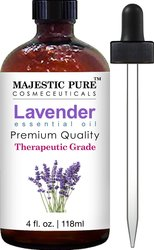 Majestic Pure Essential Oil - Lavender - 4 Fluid Ounce