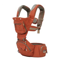 Bebamour 5 Position New Style Baby Carrier - Orange