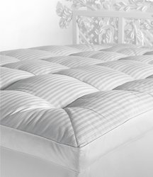 Noble Excellence Hypoallergenic Down-Alternative Featherbed White