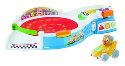 Fisher Price Laugh & Learn Puppys Smart Stages Speedway Toy