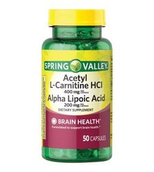 Spring Valley Dietary Supplement Capsules - 50Ct