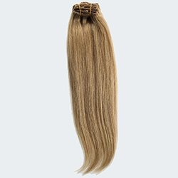 "GoGoDiva 18"" Clip-In 100% Human Remy Hair Extensions - Strawberry Blonde"