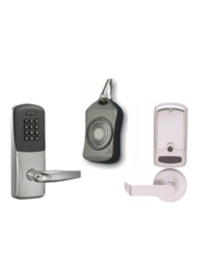Schlage LD Less Cylindrical RHO Lever Proximity Reader with Keypad Lock