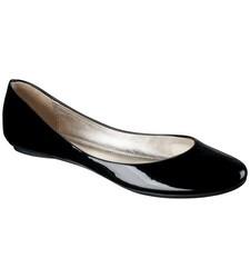 Xhilaration Women's Shae Ballet Flats - Black - Size: 8