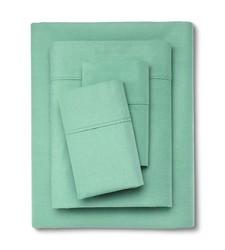 Organic Cotton Sheet Set - Threshold - Alpine - Size: Full