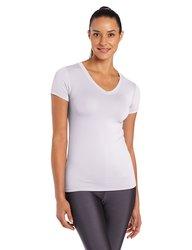 Tommie Copper Women's Short Sleeve Shirt - White - Size: XL