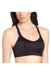 Champion Women's Shaped T-Back Sport Bra - Black - Size: Medium