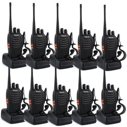 Retevis Two-Way Portable Radio 16 Channels - Pack of 10 (H-777)