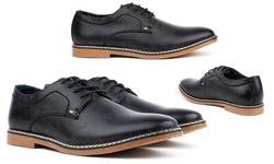 Tonys Casuals Derby Mens Dress Shoes - Black - Size: 12