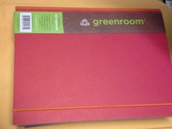 "Greenroom 7"" x 10"" Solid Paper Recycled Notebook"