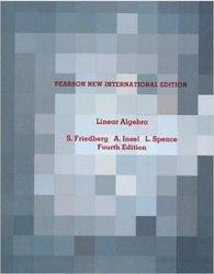 Pearson Linear Algebra: Pearson New International Edition
