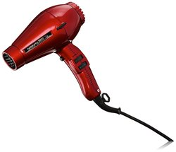 Pibbs Twin Turbo 3800 Professional Ionic & Ceramic Hair Dryer - Red