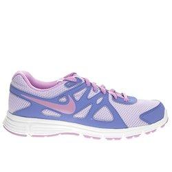 Nike Revolution 2 Running Shoes - Girls Hydrangea Purple - Size: 4