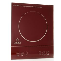 Cook's Companion 1500W LED Glass Programmable Induction Cooker
