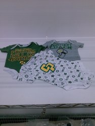 Rivalry Threads 91 NCAA Cal Poly Infant Bodysuit - 3-Set - Assorted - 0-3M