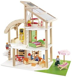 Howa 7014 European Beach Villa Dollhouse Playhouse 36 Months - 5 Years