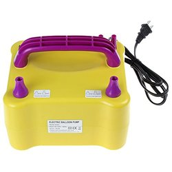 OriGlam EPC_HOA_543 600W Electric Dual Inflation Ports Balloon Pump